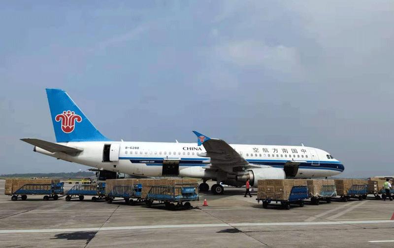 长沙机场空运